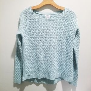 Old Navy XS mint green sweater